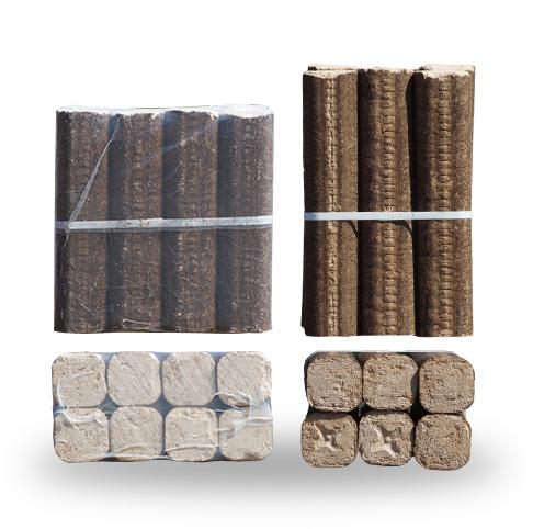 Bois chauffage densifier packet